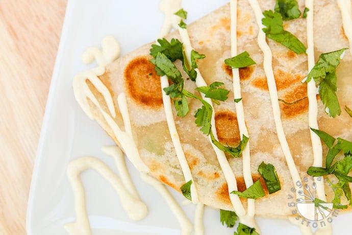 hummus avocado quesadillas-6