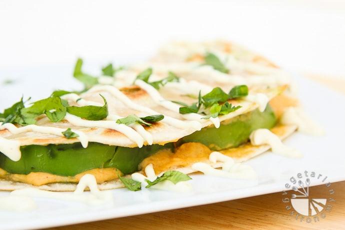 hummus avocado quesadillas-7