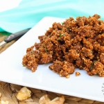 Savory Walnut Sun-Dried Tomato Crumble