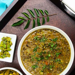 Curried Black Lentil (Urad) Soup