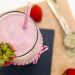Strawberry Hemp Milkshake