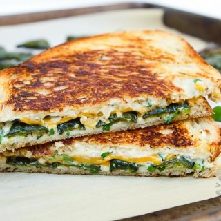 Jalapeno Popper Herb Grilled Cheese