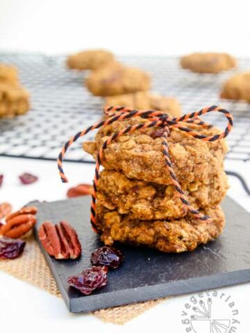 pumpkin pecan breakfast cookies-3