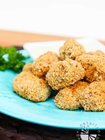 baked crispy cauliflower rice bites-5