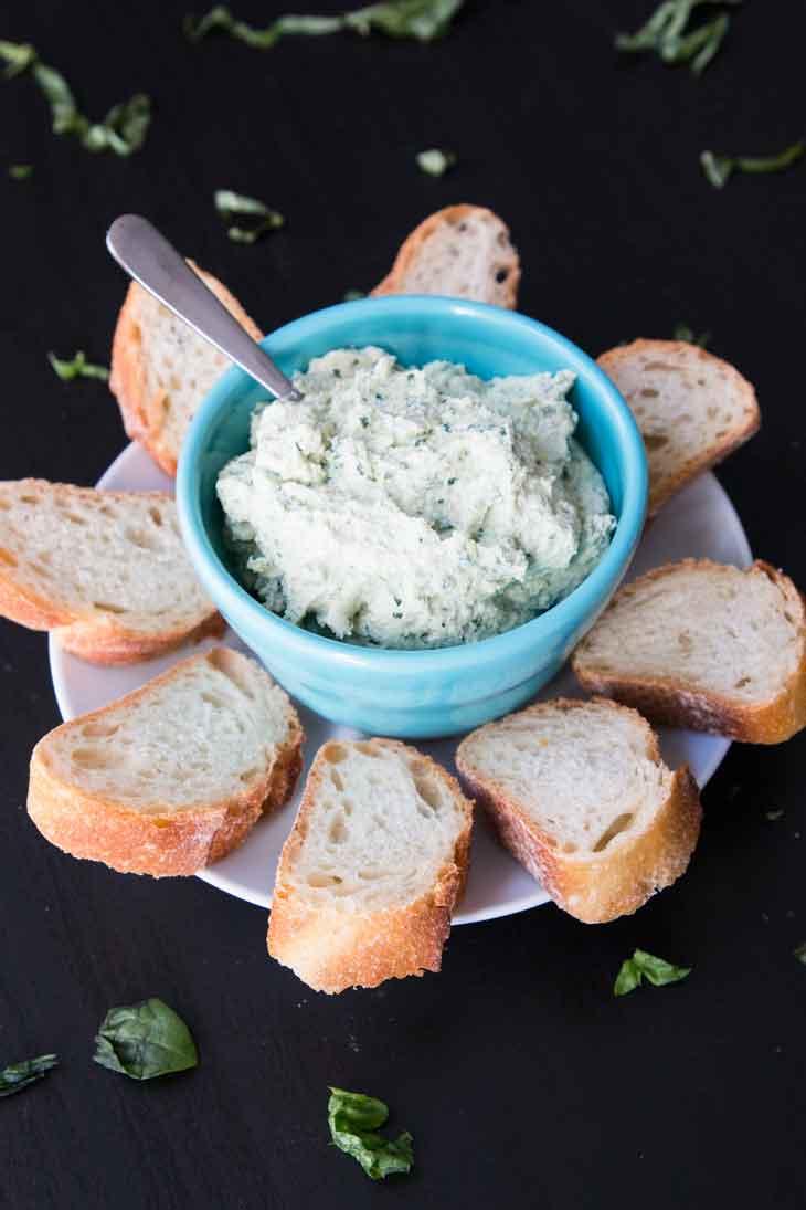 5-Ingredient Garlic Basil Vegan Tofu Ricotta - Vegetarian Gastronomy