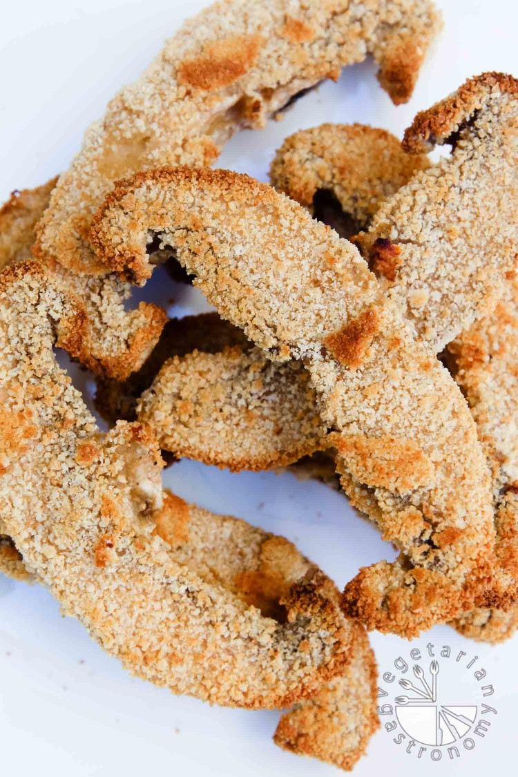 Crispy Baked Portabello Mushroom Fries-10
