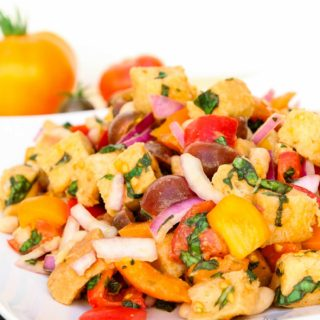 Tuscan Panzanella with White Beans