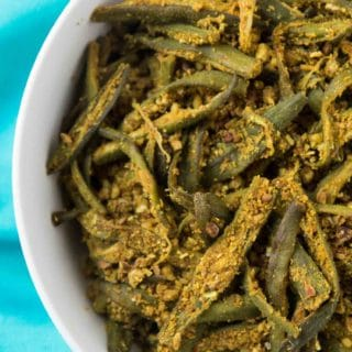 Easy Curried Okra