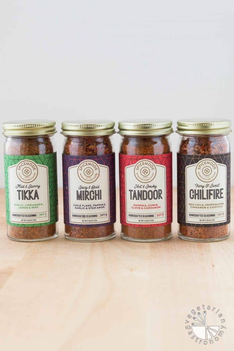 Crispy Tofu Tikka Masala Tacos with Peppers, Onions, and Chilifire Crema #vegan #glutenfree   vegetariangastronomy.com