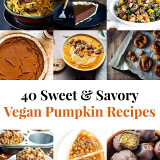 40 Sweet & Savory Vegan Pumpkin Recipes