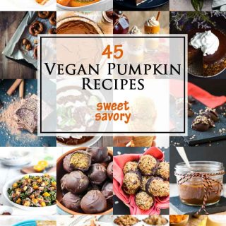 45 Sweet & Savory Vegan Pumpkin Recipes