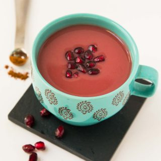 Warm Cinnamon Spiced Pomegranate Juice Recipe