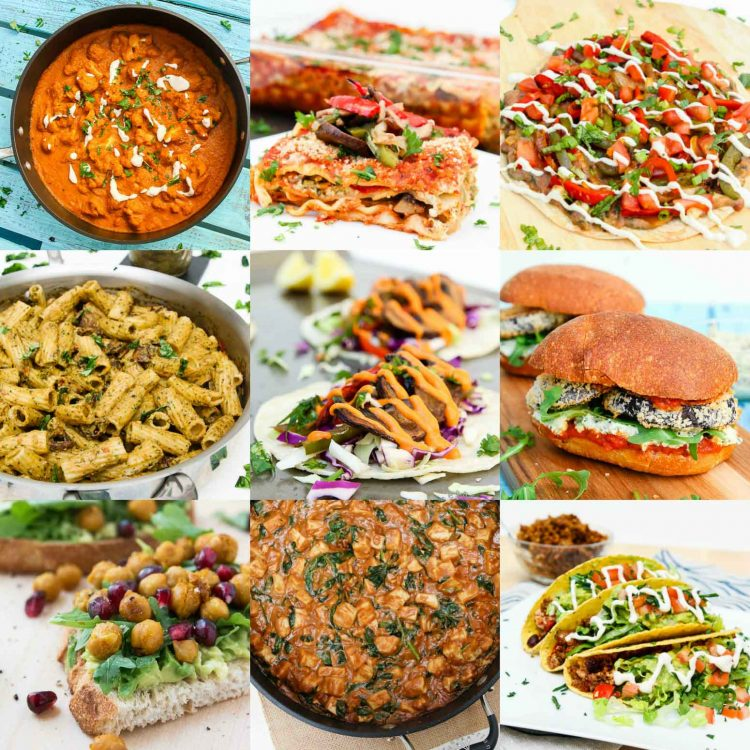 Winter Vegan Holiday Recipes + Holiday Gift Guide #vegan | www.Vegeteariangastronomy.com