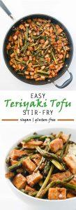 Teriyaki Tofu Stir Fry #vegan #glutenfree | Vegetarian Gastronomy | www.vegetariangastronomy.com