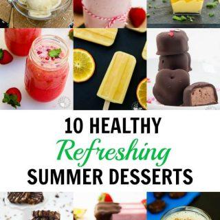 10 Healthy Refreshing Summer Desserts (Vegan)
