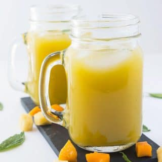 Pineapple Mango Agua Fresca Recipe