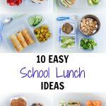 10 Easy School Lunch Ideas (Vegan)