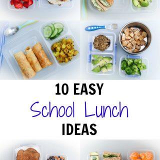 10 Easy School Lunch Ideas Vegan Vegetarian Gastronomy