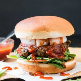"The Ultimate ""Meatball"" Burger Recipe From ' Vegan Burgers & Burritos', Review + Giveaway"