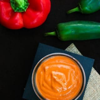 Spicy Roasted Red Pepper Sauce