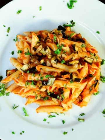 Roasted Eggplant Pasta - GWS Cover